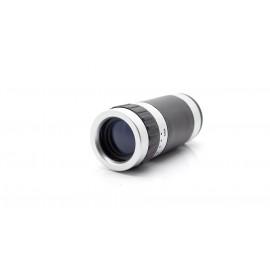 Mini 8X Zoom Optical Lens Telescope w/ Plastic Back Case for Apple iPhone 5
