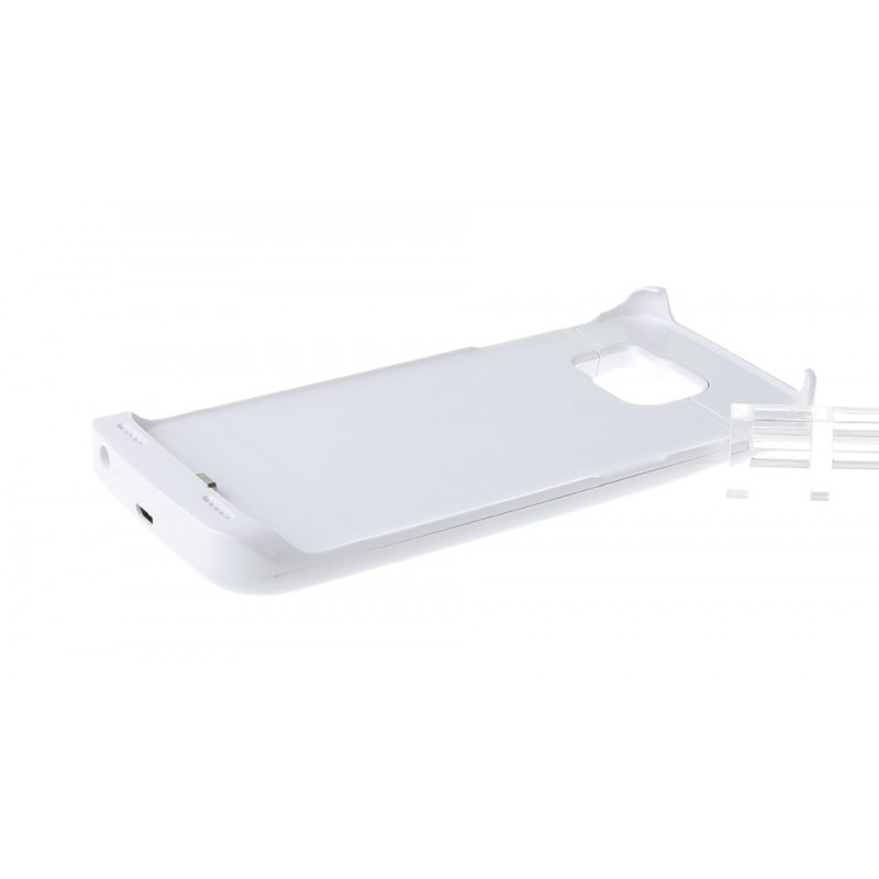 """""""4200mAh"""" Rechargeable External Battery Case for Samsung Galaxy S6 Edge"""