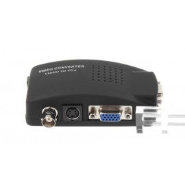 BNC to VGA Video Converter Adapter