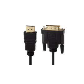 HDMI to DVI-D 24+1 Connection Cable (100cm)