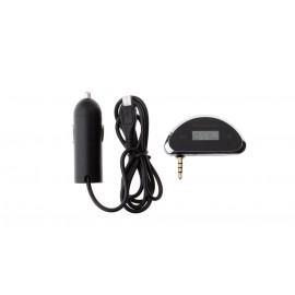 1.3'' LCD Car Handsfree FM Transmitter (3.5mm)
