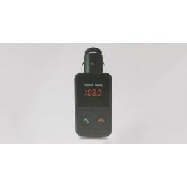 "301E 0.8"" MP3 Player + Hands-free Bluetooth V3.0 Car Kit FM Transmitter"
