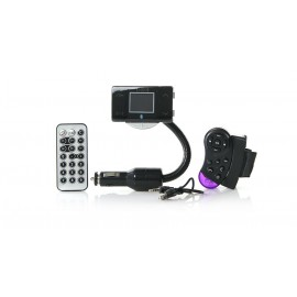 "1.5"" LCD MP3 Player FM Transmitter + Bluetooth Hands-Free"