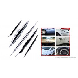 3D Simulation Bullet Holes Car Motorcycle Sticker Anti-Scratch Decal (23*29cm)