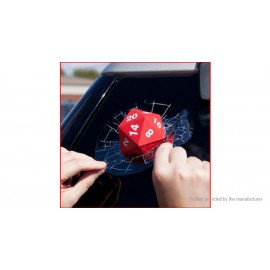 3D Rear Window Wiper Car Dice Decal Sticker