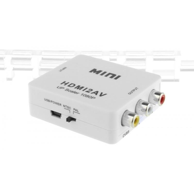 HDMI to 3*RCA AV Converter Adapter