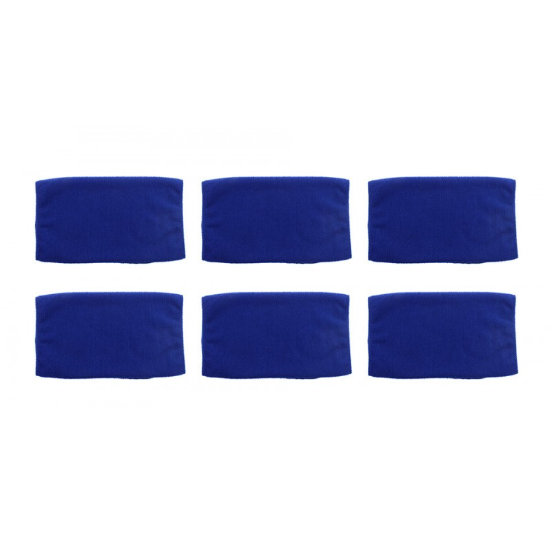 Microfiber Car Washing Clean Cloth Towel (6-Pack)